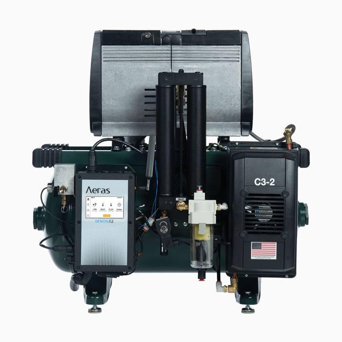Aeras dental office air compressor
