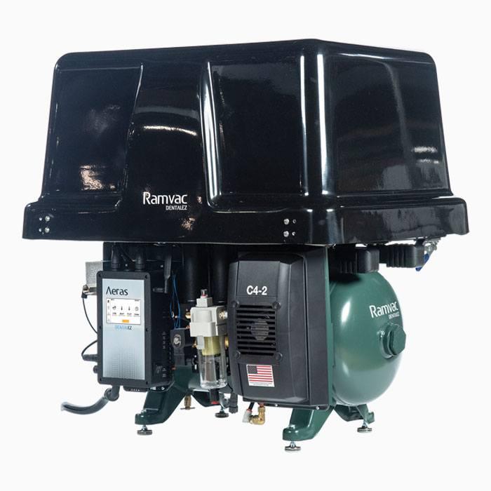 dental air compressor by Ramvac