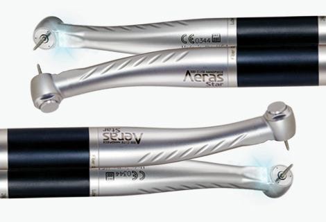 Aeras Star handpieces