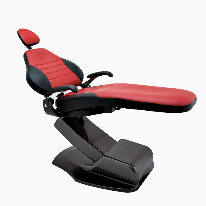 Black and red Forest Dental Chair