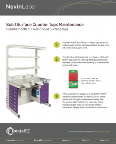 Download NevinLabs Solid Surface Counter Tops Maintenance