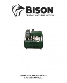 Download Bison Dental Vacuum System User Manual