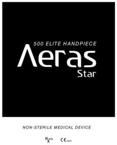 Download Aeras Elite Handpiece