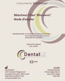 Download Titan® Blis-sonic™ Product Manual (French)
