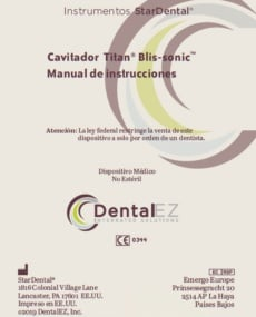 Download Titan® Blis-sonic™ Product Manual (Spanish)