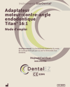 Download 16:1 Endodontic Motor to Motor Manual (French)