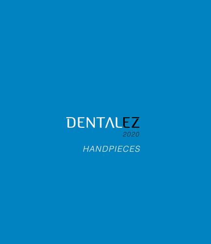 Download 2020 DENTALEZ Handpiece Catalog