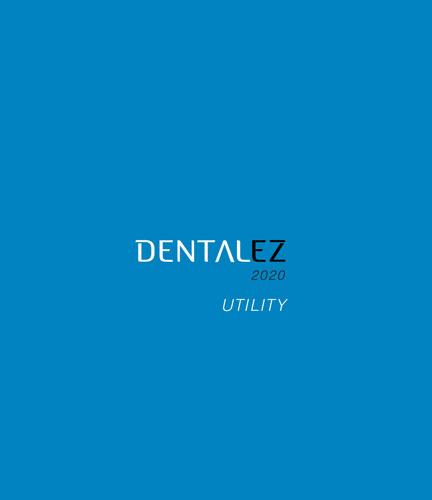 Download 2020 DENTALEZ Utility catalog