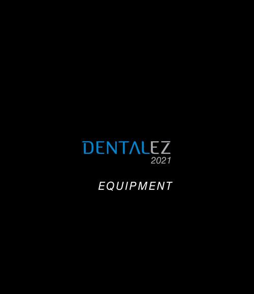 Download 2021 DENTALEZ Equipment Catalog