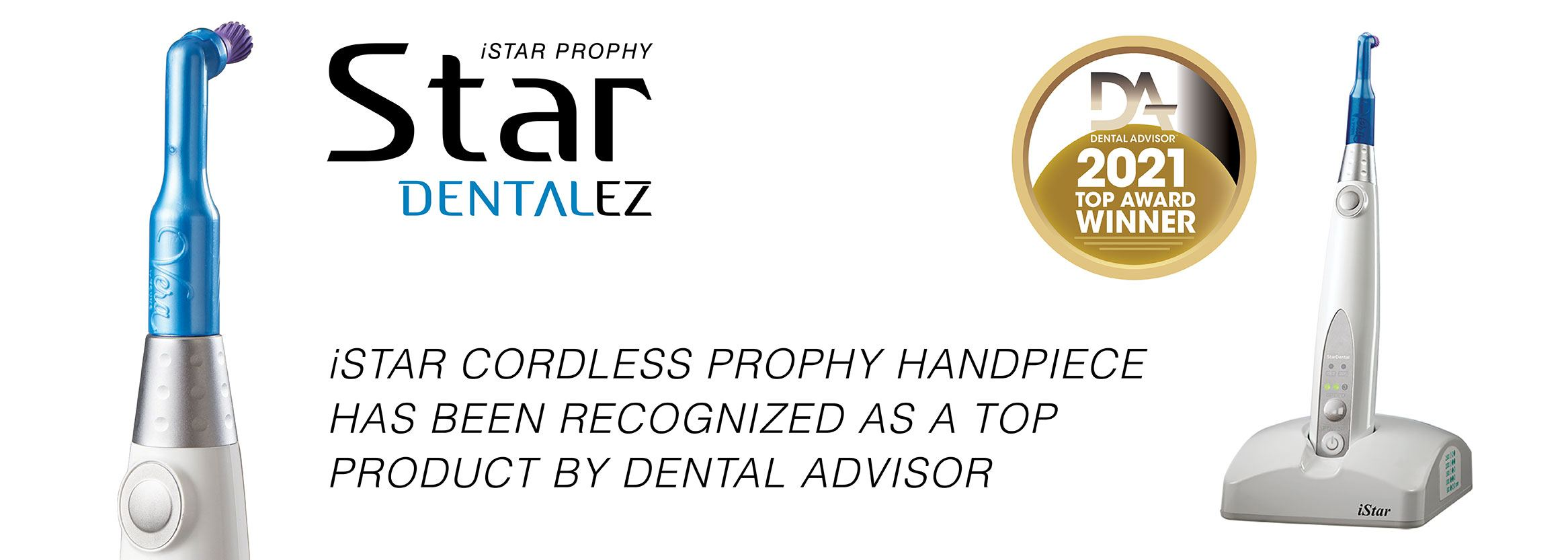 iStar recognized as Top Product by Dental Advisor