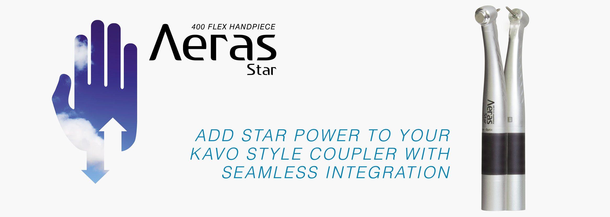Aeras 400 Flex Handpiece from DENTALEZ
