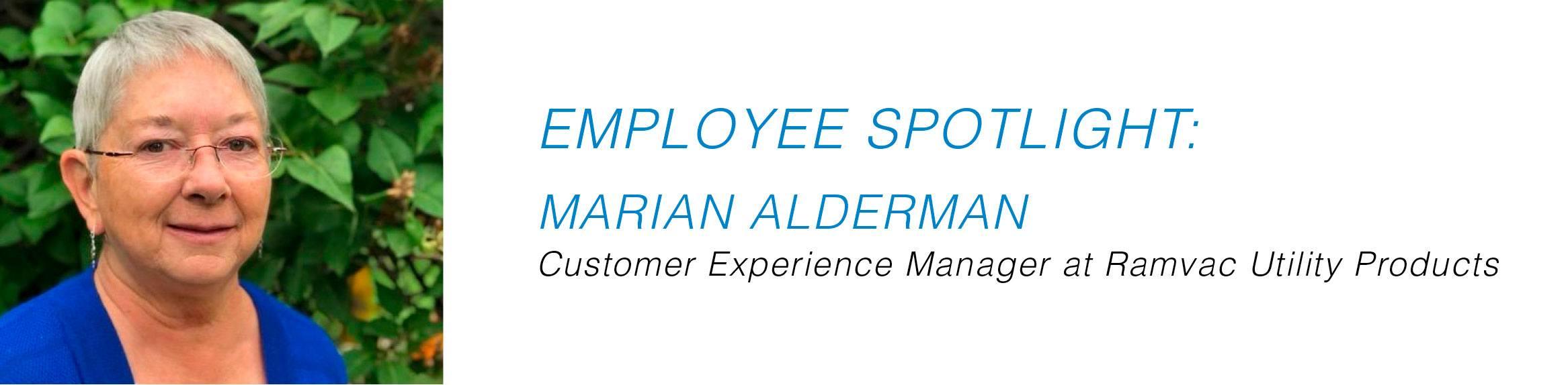 Employee Spotlight - Marian Alderman