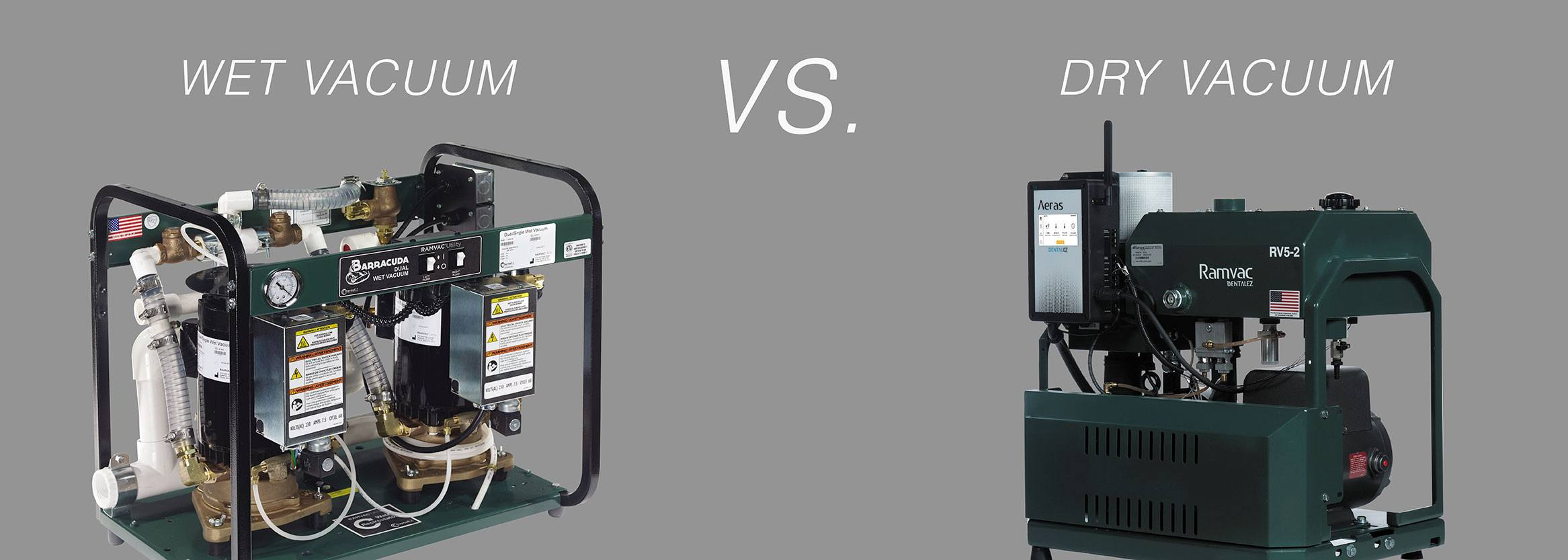 The Guide to Dental Vacuum Pumps: Wet vs Dry